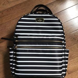 Kate Spade Wilson Road French Stripe Backpack